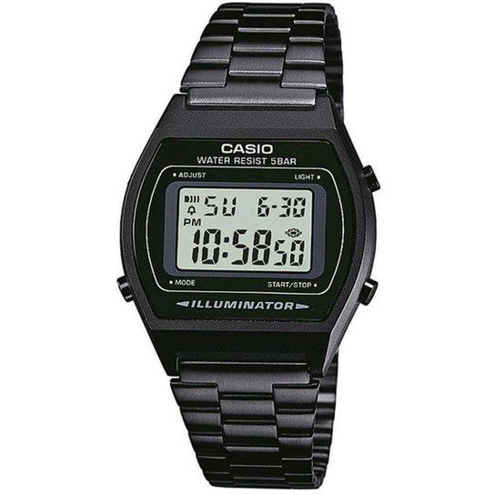 40735e550ec Relógio Casio Vintage B640WB-1ADF - Preto - Compre Agora
