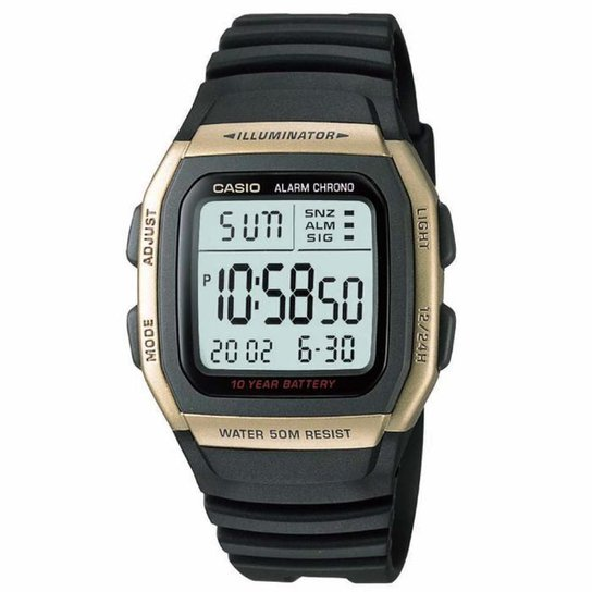 091b32fb655 Tag  Relógio Masculino Casio G Shock Ga100 1A1 51Mm Preto