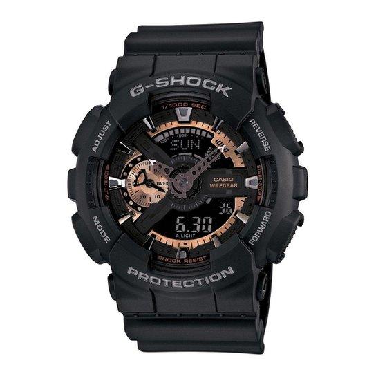 ae5db0fafca Relógio Casio G-Shock GA110RG-1A 55mm - Compre Agora