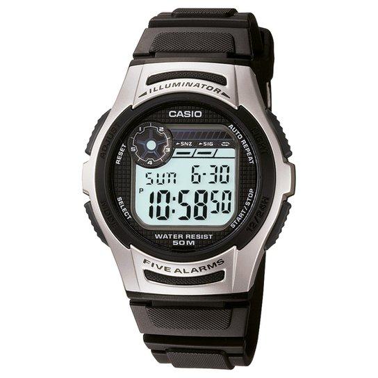 78f80090e04 Relógio Digital Casio W-213-1AVDF Masculino - Preto - Compre Agora ...