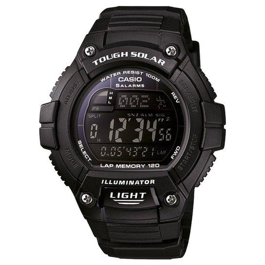 ab3b52b7a35 Relógio Casio Digital W-S220-1BVDF - Preto - Compre Agora
