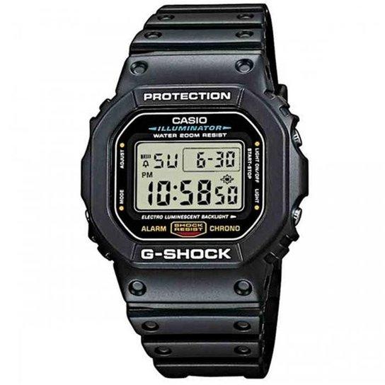 454b3b6d033 Relógio Casio G-Shock DW-5600E-1VDF - Compre Agora