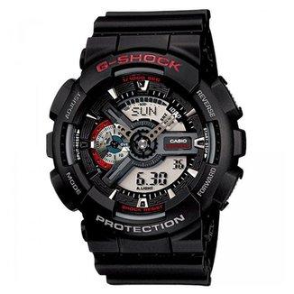 dcca6fb5e23c5 Relógio Casio Ana-Digi Masculino G-Shock - GA-110-1ADR
