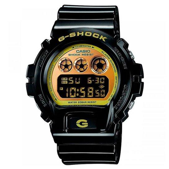 b33b6a60fad Relógio Casio Digital Masculino G-Shock - DW-6900CB-1DS - Preto ...
