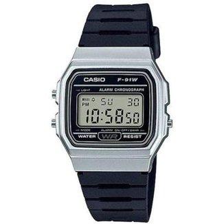 c94dc962cd1 Relógio Masculino Casio Digital F-91Wm-7Adf