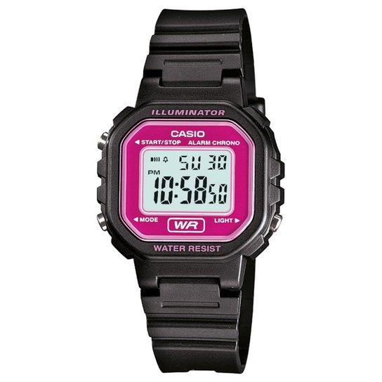 2acb11fb456 Relógio Digital Casio LA-20WH-4ADF Feminino - Compre Agora
