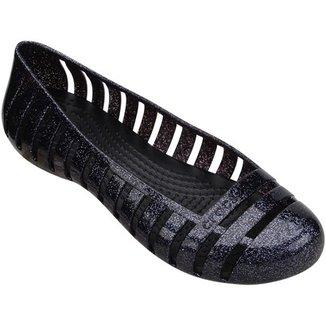 b9a46ea5a Sapatilha Crocs Adrina 2 Glitter Flat GS Juvenil