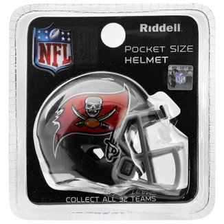 Mini Capacete Riddell Tampa Bay Buccaneers 2e84057b35dcf