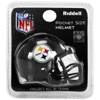 Mini Capacete Riddell Pittsburgh Steelers aa04b16ecbf6b
