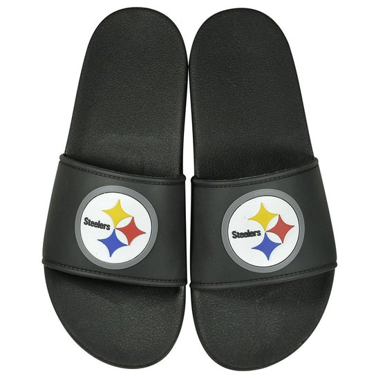 Chinelo Storm Slip On Pittsburgh Steelers NFL - Preto - Compre Agora ... 2deafb30128