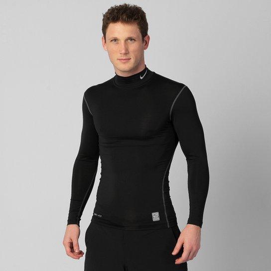 Camisa de Compressão Nike Core Mock M L - Compre Agora  7e3978cecd336