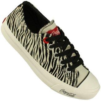 84e8d20795f Tênis Coca-Cola Shoes Basket Low Tag