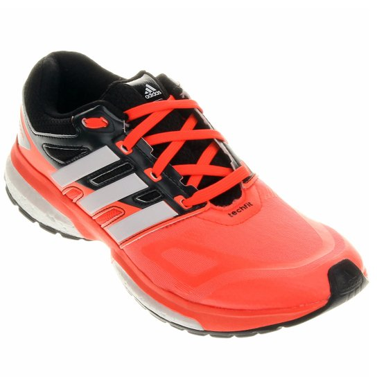 010336dcaaef4 Tênis Adidas Response Boost Techfit 23 - Preto+Laranja Escuro