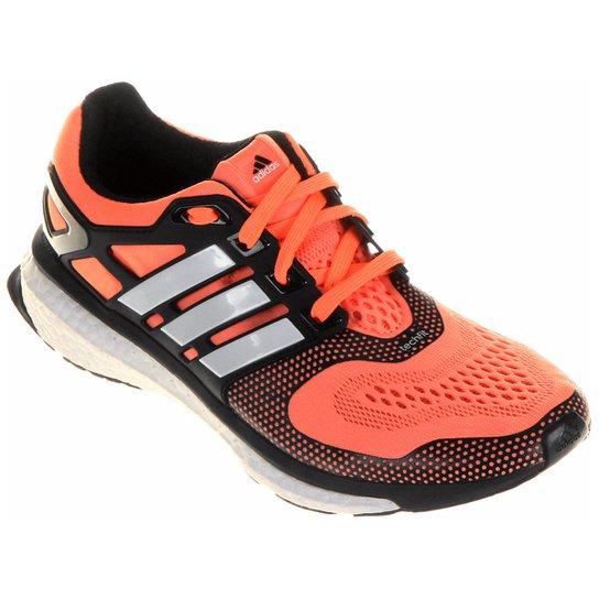 fcbaa880ef2 Tênis Adidas Energy Boost ESM Feminino - Laranja+Preto ...