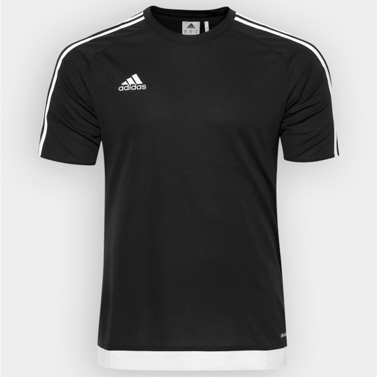 Camisa Adidas Estro 15 Masculina - Preto - Compre Agora  a4a2de7021ba8