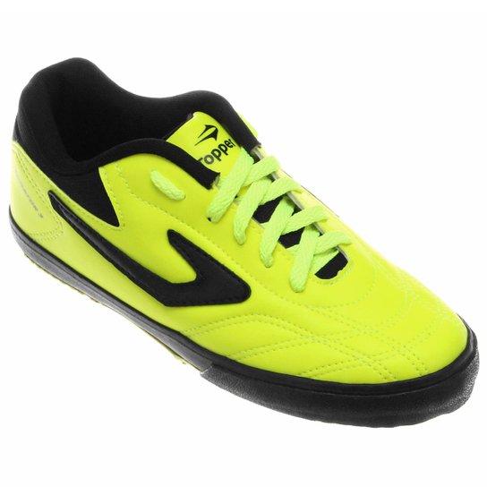 27a8caa77e Chuteira Futsal Topper Dominator 3 - Preto - Compre Agora