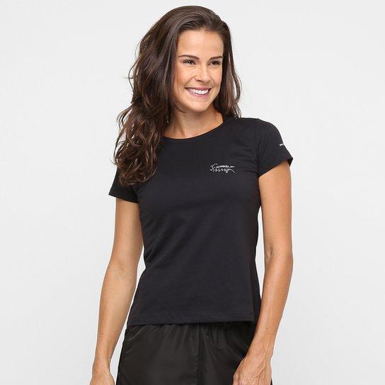 092c242ea3 Camiseta Speedo UV50 Feminina - Preto - Compre Agora