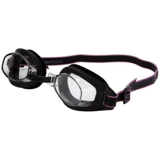 72a26257038da Óculos Speedo Freestyle 3.0 - Preto e Rosa - Compre Agora