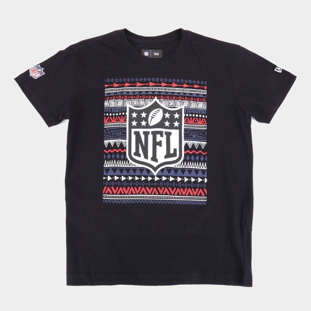 Camiseta Infantil NFL New Era Native Masculina