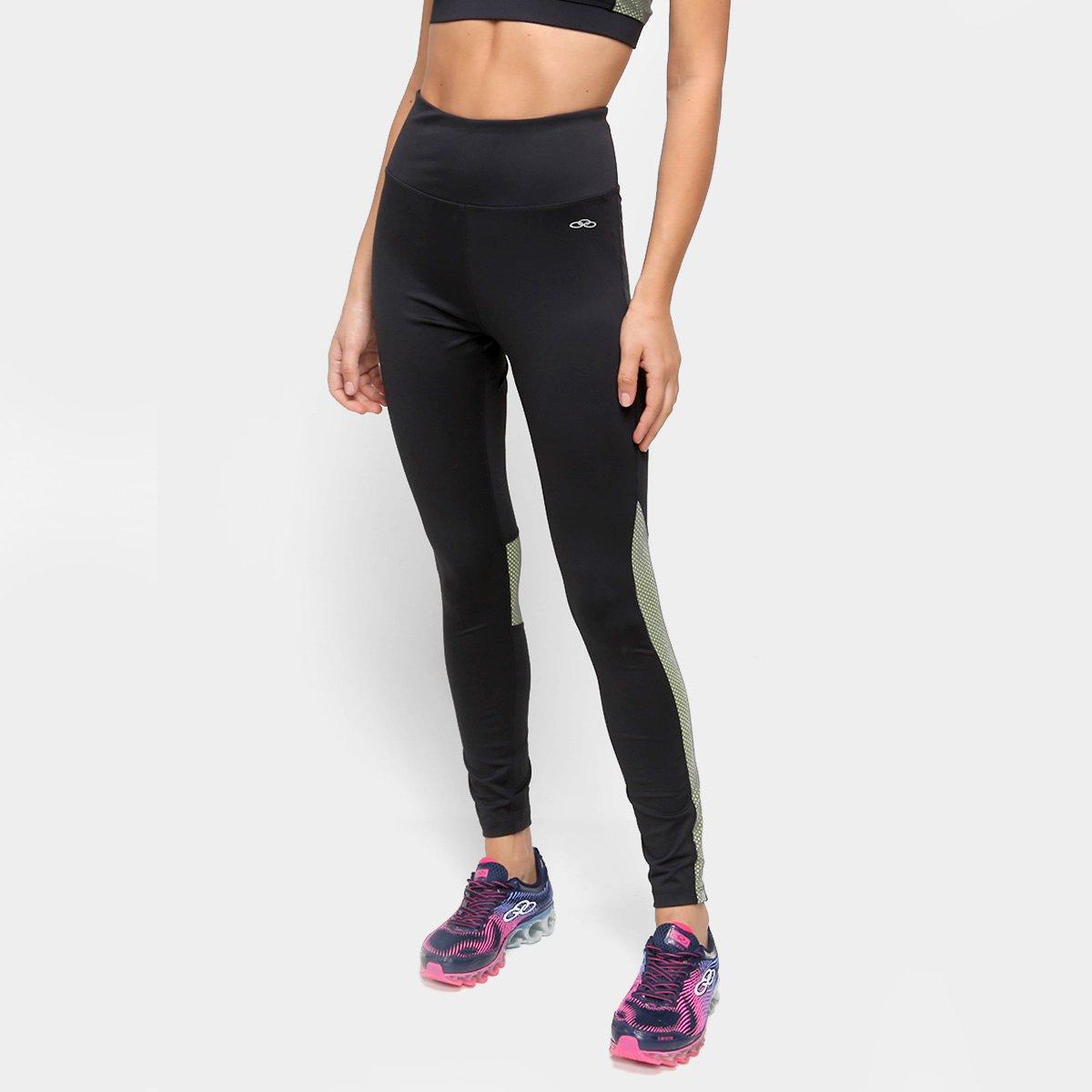 Calça Legging Olympikus Run Line Feminina
