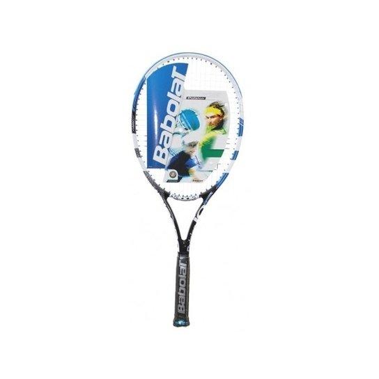 b2074f179 Raquete Tenis Babolat Pulsion 105 - Azul - Encordoada - Compre Agora ...