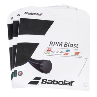 Corda Babolat RPM Blast Rough 16L 1.30mm - Pack com 3 Sets 9bd82b66168c4