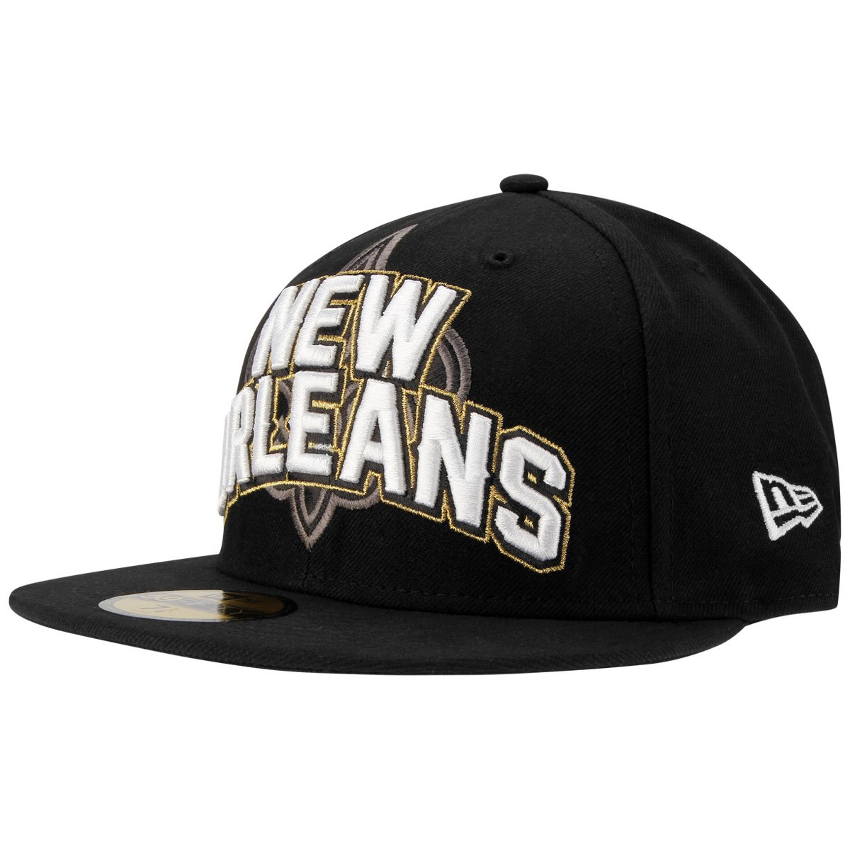 Boné New Era NFL New Orleans Saints Aba Reta 5950 On Field