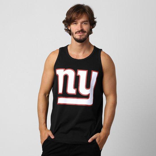d0bf1ad45f Camiseta Regata New Era NFL Basic New York Giants - Preto
