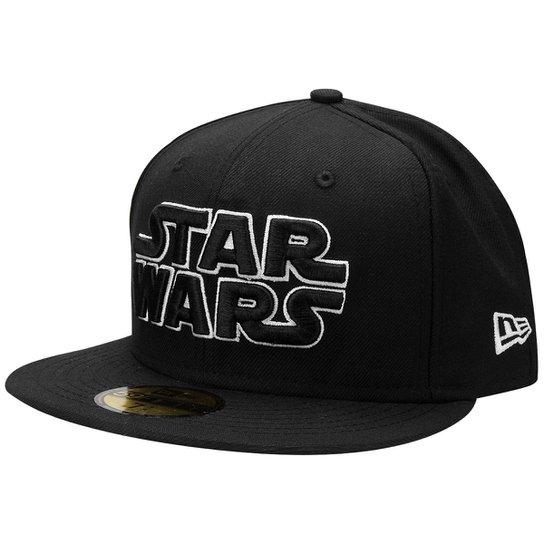 e19a8386bb1a2 Boné New Era 5950 Outline Star Wars - Compre Agora