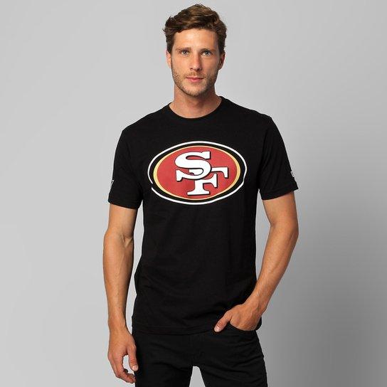 98839445d6 Camiseta New Era NFL San Francisco 49ers - Preto - Compre Agora ...