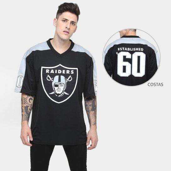 Camiseta New Era Especial Jersey Raiders - Compre Agora  2db5f61ec38
