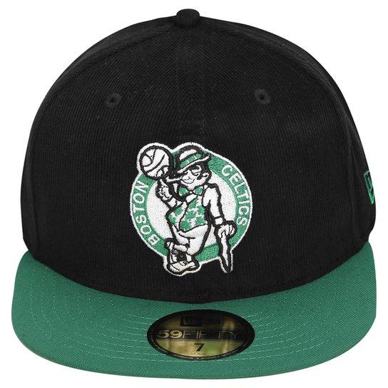 Boné New Era NBA 5950 Team Cord Boston Celtics - Compre Agora  92e41453300