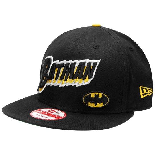 Boné New Era 950 192 Comic Batman - Preto - Compre Agora  aee46051c2e