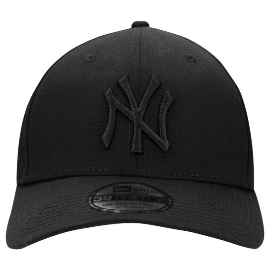 Boné New Era 3930 MLB New York Yankees - Preto - Compre Agora  b2fb22db25345