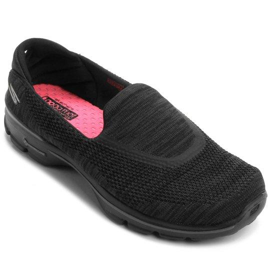 a8445a79d76 Sapatilha Skechers Go Walk 3 Fitknit - Preto - Compre Agora