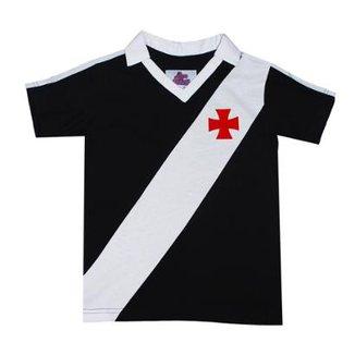 c29d5d8d42 Casmisa Polo Liga Retrô Vasco 1989 Infantil Masculina