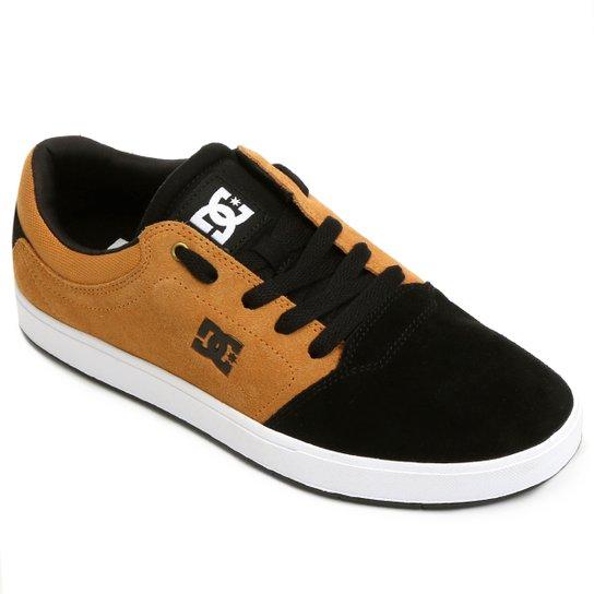 e8e939c3d13d8 Tênis Dc Shoes Crisis Young - Preto+Bege ...