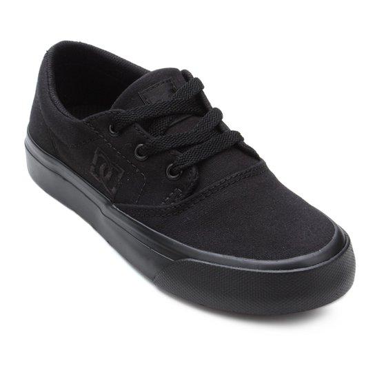 2f6cd0a3dfa73 Tênis Infantil DC Shoes Flash 2 Tx La Masculino - Preto - Compre ...
