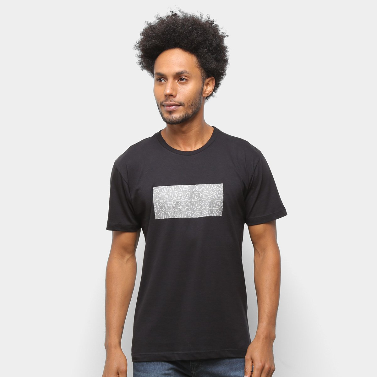 Camiseta DC Shoes Basic Last Gram Masculina