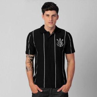 Camisa Polo Corinthians Recordes 7699cee173f41