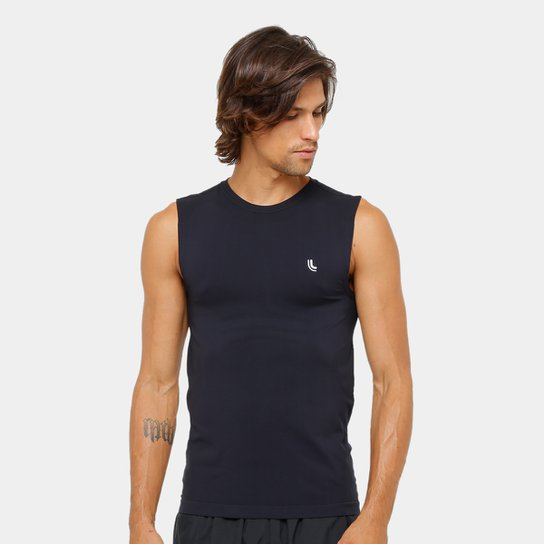 Regata Lupo Compressão Sport Run Masculina - Preto - Compre Agora ... f83ee00c8b600