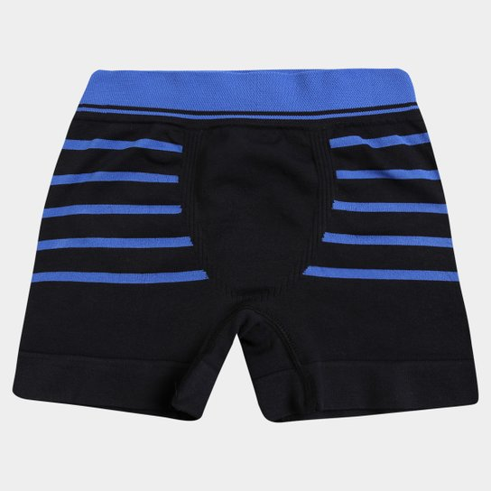 593c23ccb17c28 Cueca Lupo Boxer Microfibra Sem Costura Infantil - Preto
