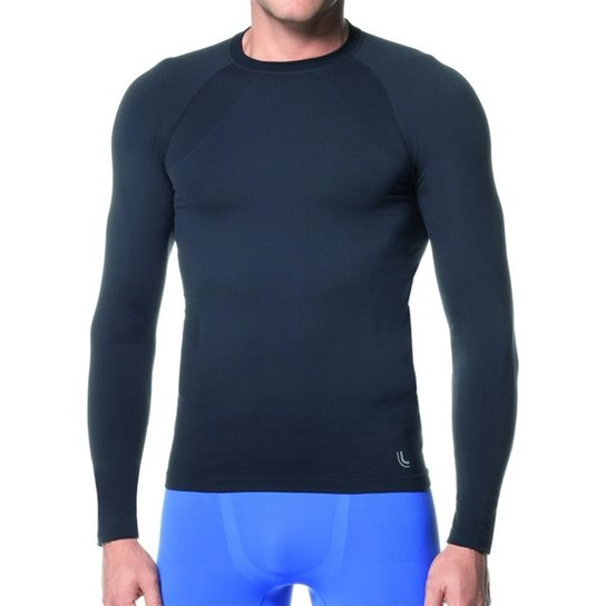 Camiseta Térmica Lupo Sport Run - 70045-001 - Preta - Eg - Preto ... 2b6e14f2db2d8