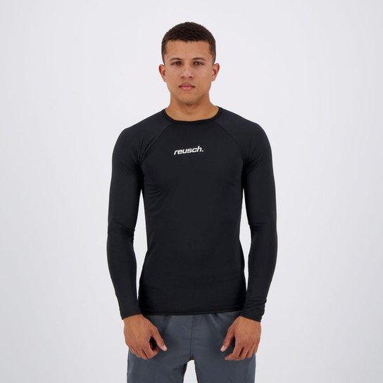 9abf240008340 Camisa Térmica Reusch Underjersey M L - Preto - Compre Agora