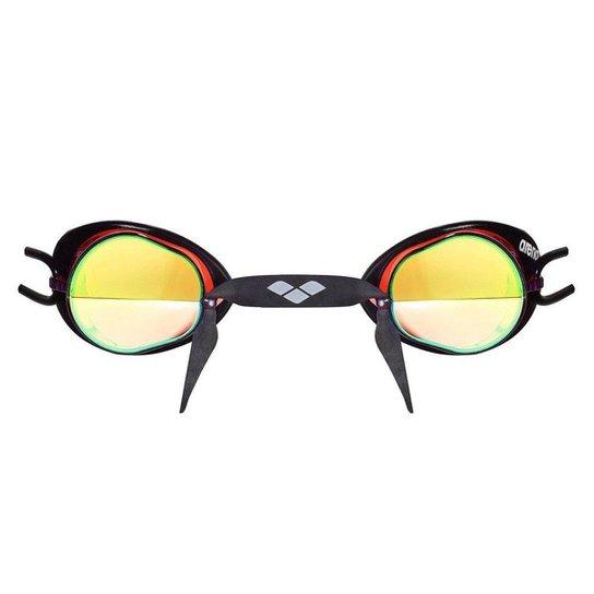 bddbbca3b Óculos Swedix Mirror Arena Lente Espelhado Masculino - Preto