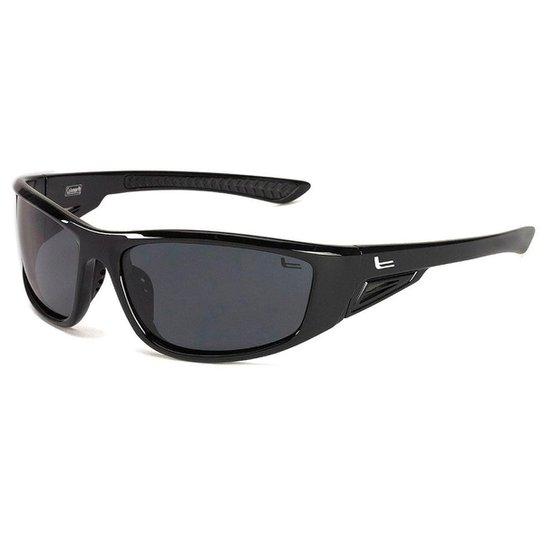 Óculos de Sol Coleman C6025C1 Lentes Polarizadas 100% UVA-UVB - Preto bca139c543