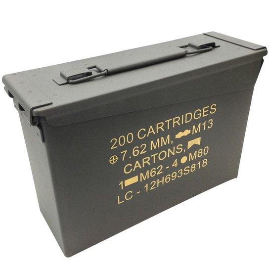 909c37c31abcc Caixa para Munição NTK Tático AMMO Box - Compre Agora