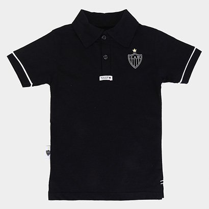 Camisa Polo Infantil Atlético Mineiro Masculina