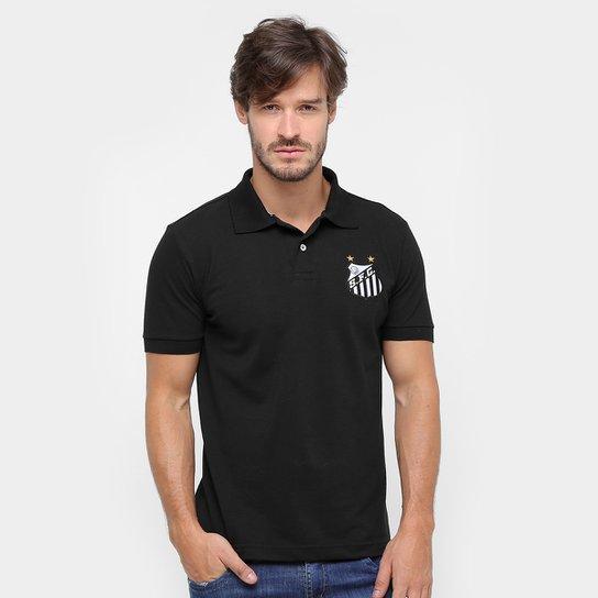 Camisa Polo Santos FC II Masculina - Compre Agora  62ba4754024