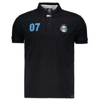 Camisa Polo Grêmio Bandeiras Masculina 7e344184f5e08